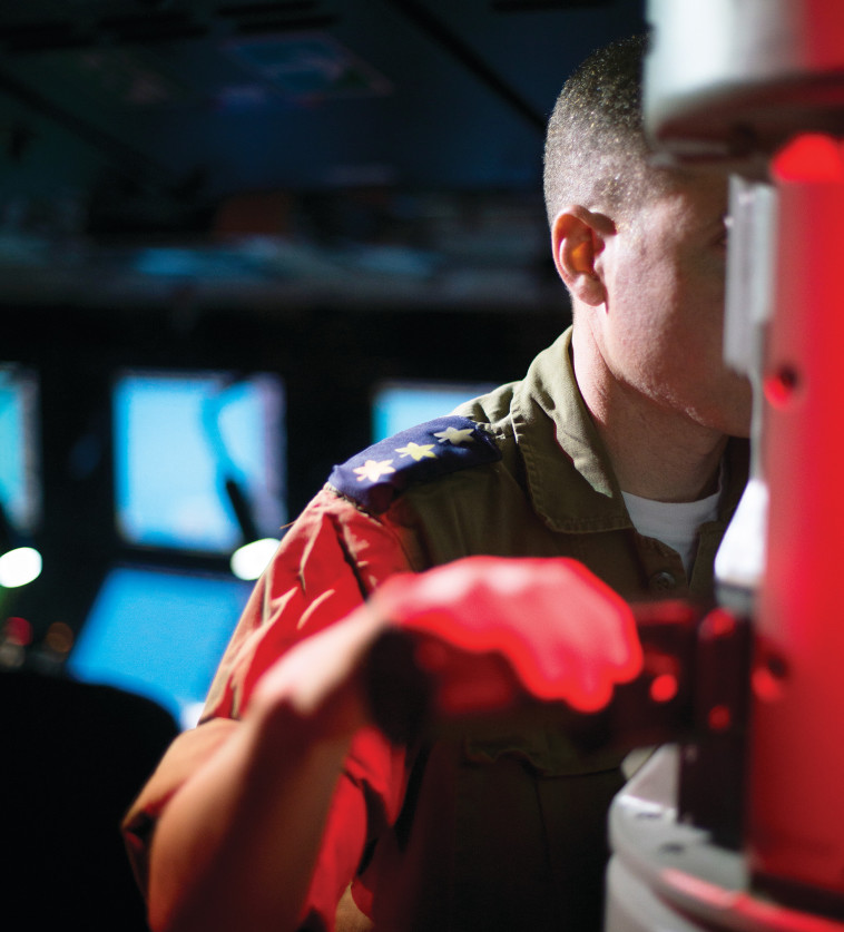 """אל""""מ ג'. אחראי על רכש הצוללות העתידיות. צילום: דובר צה""""ל"""