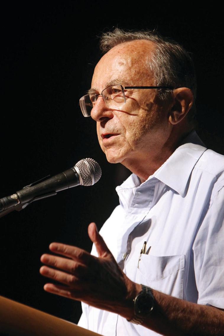 משה ארנס (צילום: מרים אלסטר, פלאש 90)