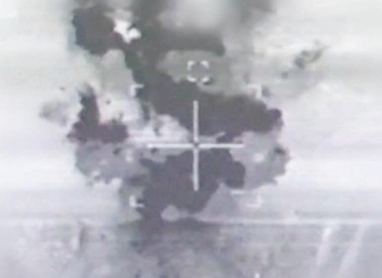 """תקיפת הכור הסורי. צילום: דובר צה""""ל"""