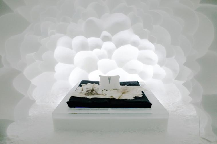 """חדר """"ענני קולמוס"""". צילום: ניר קידר"""