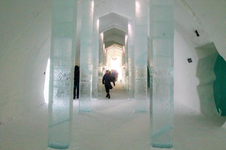 מלון הקרח. צילום: ניר קידר