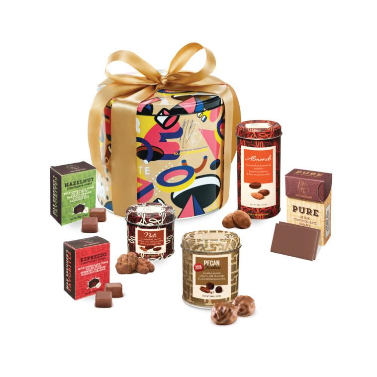 "Chocolate Art – מארז עם מגוון שוקולדים, מקס ברנר. צילום: יח""צ"