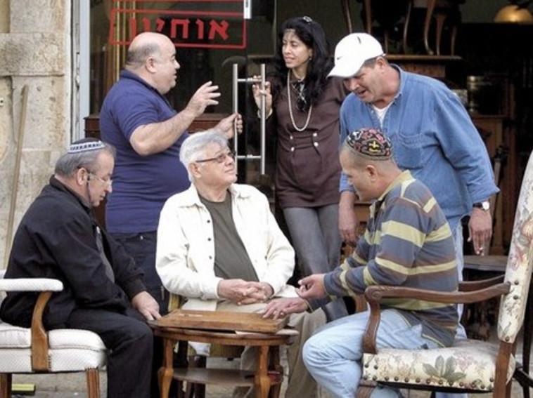 מנחם תלמי והג'מעה ב-2009. צילום: יוסי אלוני