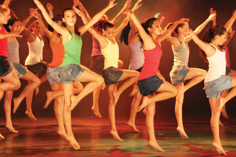 רוקדים אביב - באדיבות החברה העירונית רחובות