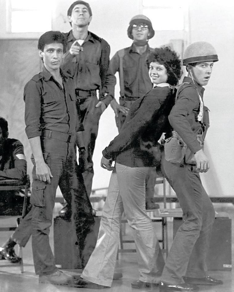 הלהקה. מתוך הסרט. צילום: צחי אוסטרובסקי