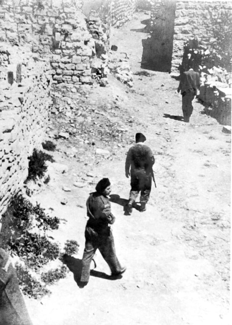 הטבח שלא היה. דיר יאסין, צילום באדיבות מכון ז'בוטינסקי
