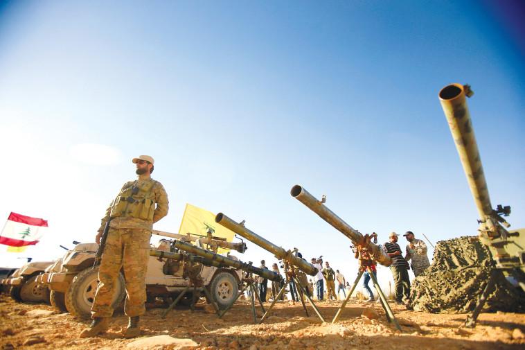 """""""לאיראן יש שליטה מלאה על חיזבאללה"""". כוחות חיזבאללה, צילום: רויטרס"""