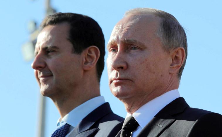 ולדימיר פוטין ובשאר אסד. צילום: רויטרס