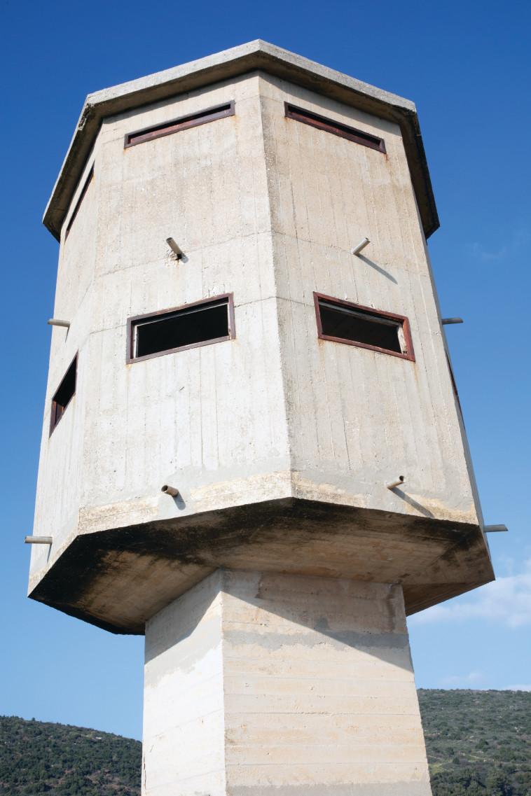 מבנה תחנת המשטרה. צילום: יוסי אלוני