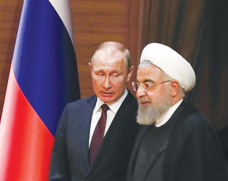 פוטין וחמינאי. המסר הועבר. צילום: AFP