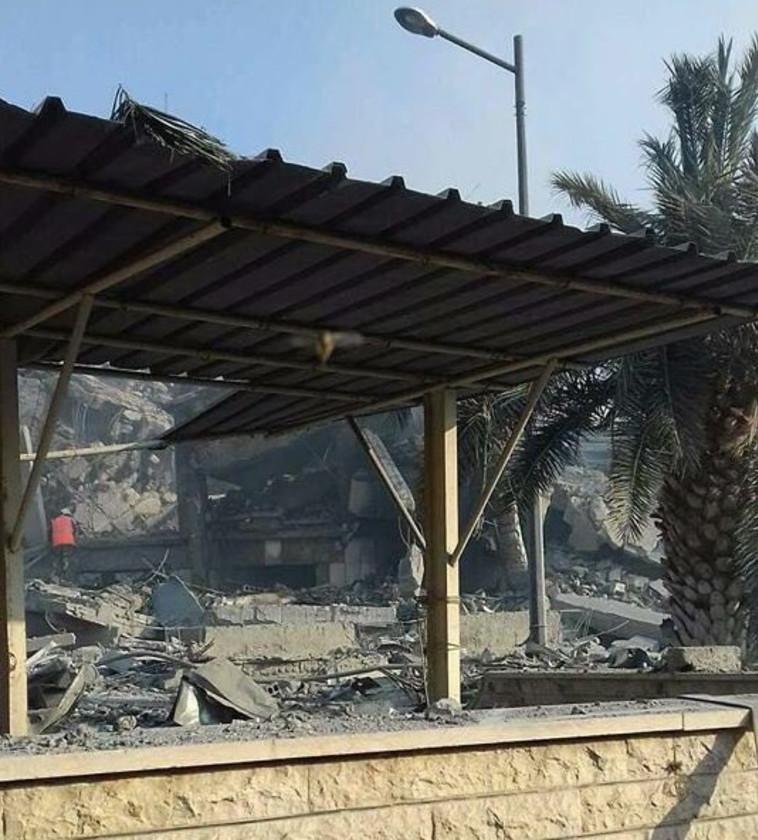 תקיפה אמריקאית ואירופית בלב דמשק