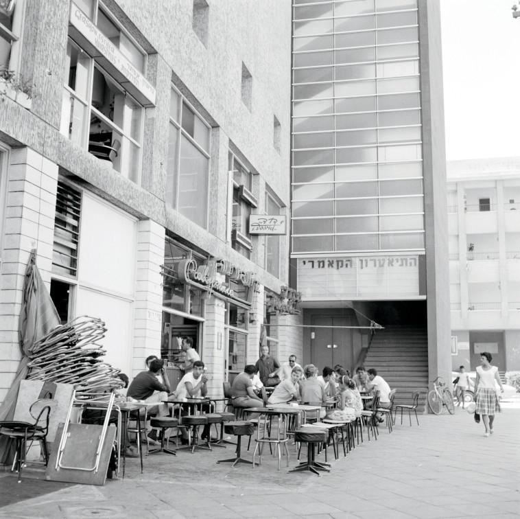 קפה קליפורניה 1964. צילום: וילם ון דה פול