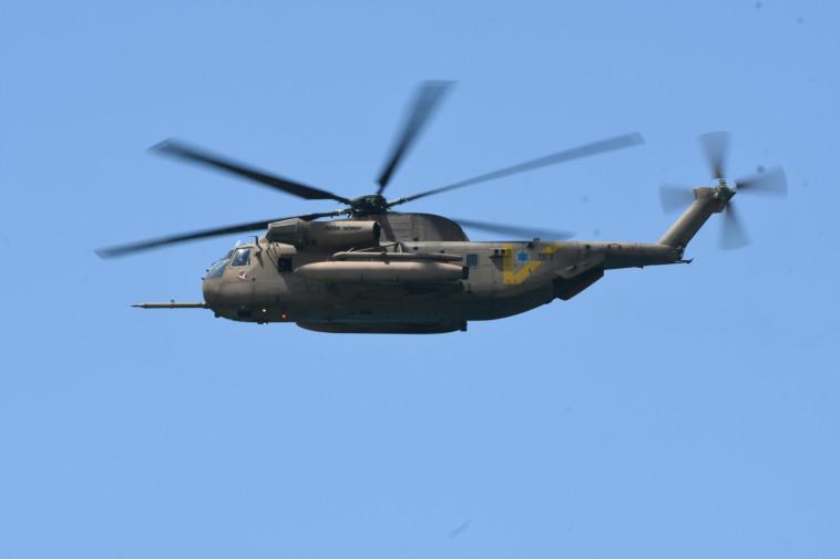 מסוק של חיל האוויר. צילום: אבשלום ששוני