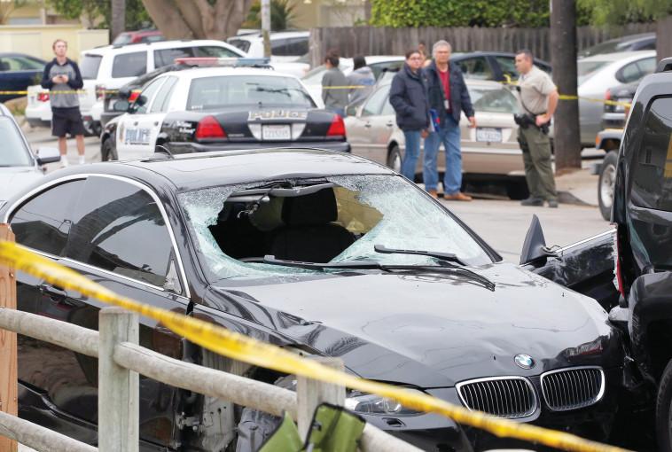 פיגוע הירי בקליפורניה. צילום: צילום מסך