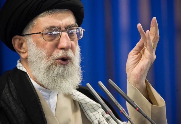 מנהיג איראן עלי חמינאי. צילום: רויטרס