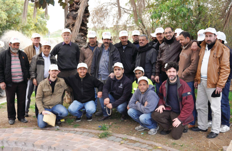 מאבק העובדים הפלסטינים. צילום: מען