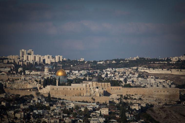ירושלים. צילום: הדס פרוש, פלאש 90