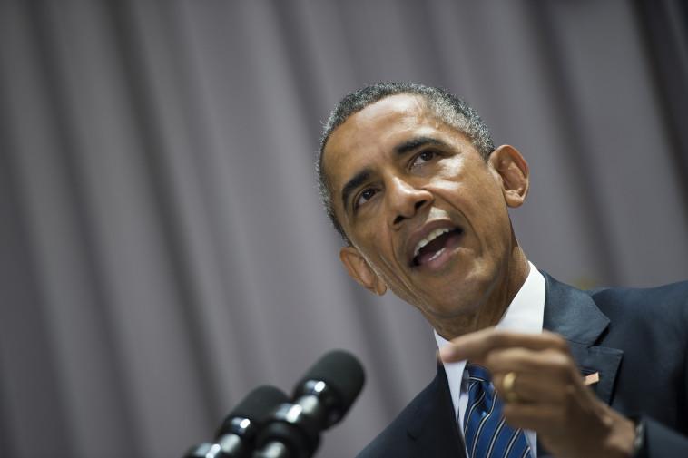 אובמה. האיש שמינה את שפירו לשגריר. צילום: AFP