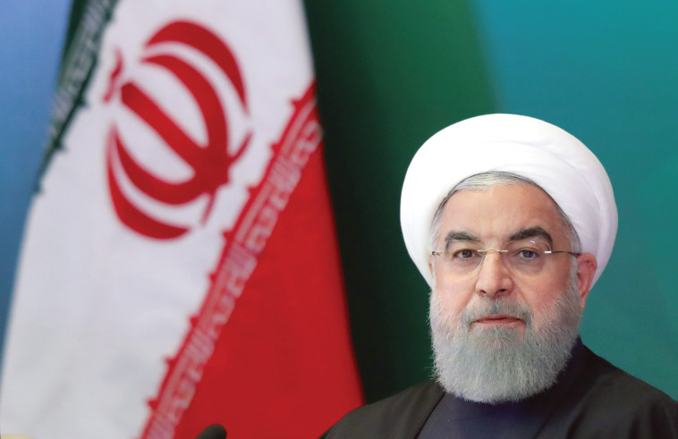 """""""האיראנים רואים בעיראק כחצר האחריות שלהם"""". רוחאני. צילום: רויטרס"""
