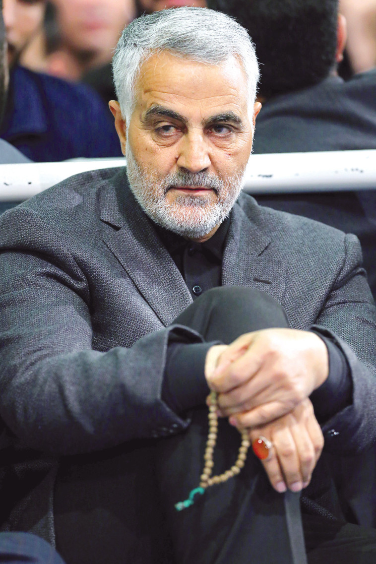 קאסם סולימאני. צילום: AFP