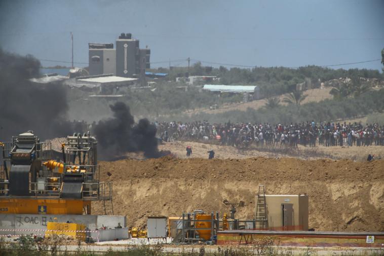 מבט מכיוון ישראל. צילום: לירון מולדובן