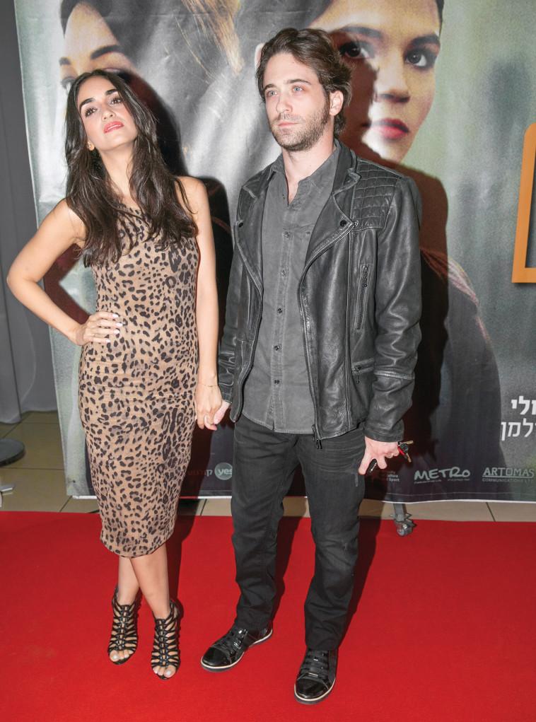 עם בעלה, תום אבני. צילום: רפי דלויה