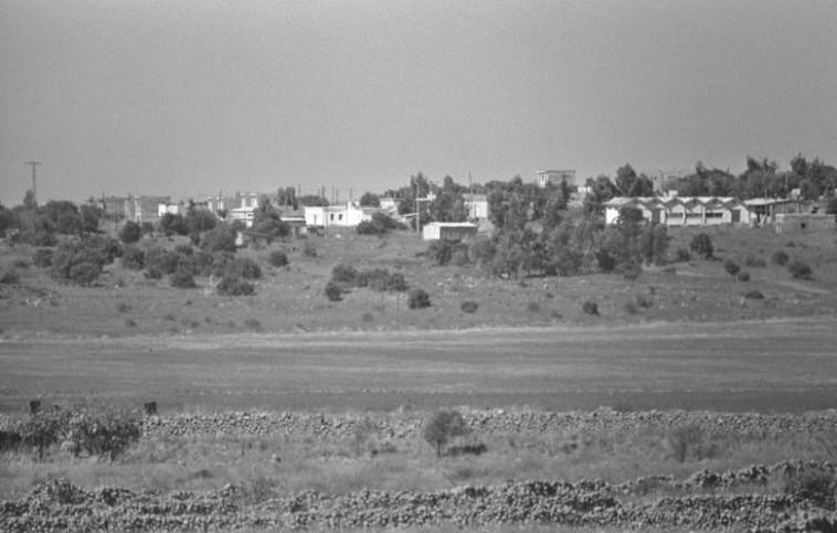 """קיבוץ עין זיוון, 1972. צילום: משה מילנר, לע""""מ"""