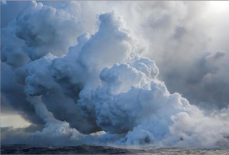 הר הגעש בהוואי. צילום: רויטרס