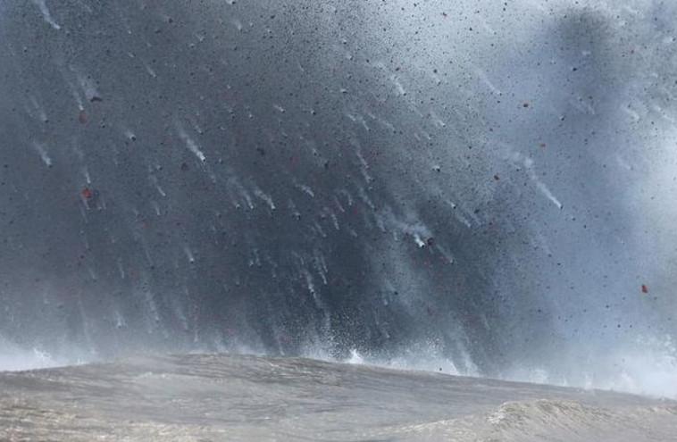 התפרצות הר הגעש בהוואי. צילום: רויטרס