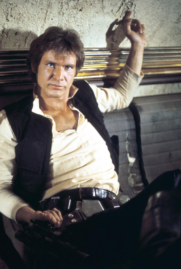 הריסון פורד. מלחמת הכוכבים תקווה חדשה פרק 4 צילום באדיבות YES