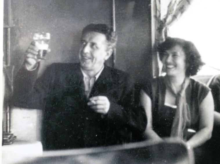 נתן אלתרמן וצילה בינדר (צילום: אלי דסה,רפרודוקציה)