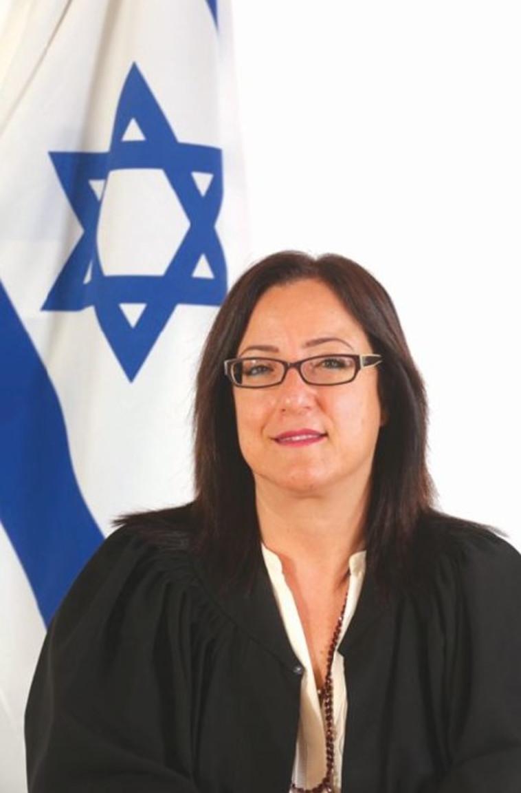 השופטת טלי חיימוביץ. צילום: פלאש 90