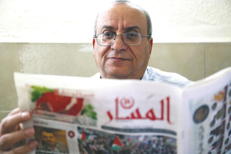 """""""האלימות בחברה הערבית מזעזעת"""". אוסמה מחאמיד, צילום: אריאל בשור"""