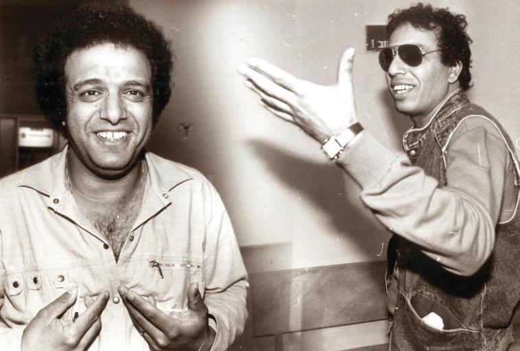 רמי דנוך עם אבנר גדסי. צילום: ראובן קסטרו