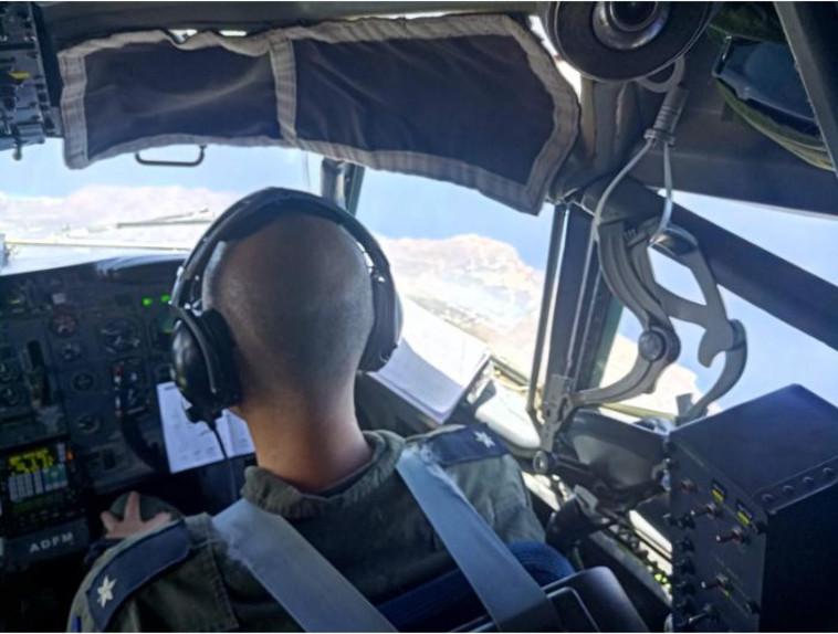 """טייסי חיל האוויר בתרגיל ביוון. צילום: דובר צה""""ל"""