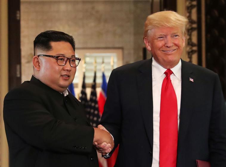 דונלד טראמפ, קים ג'ונג און. צילום: רויטרס