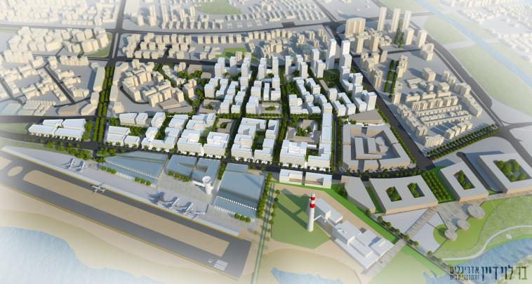 כך ייראה המתחם החדש. צילום: בר לוי דיין אדריכלים ומתכנני ערים