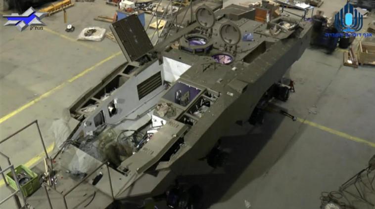 """ממערכות הנשק המתקדמות בעולם. צילום: דובר צה""""ל"""