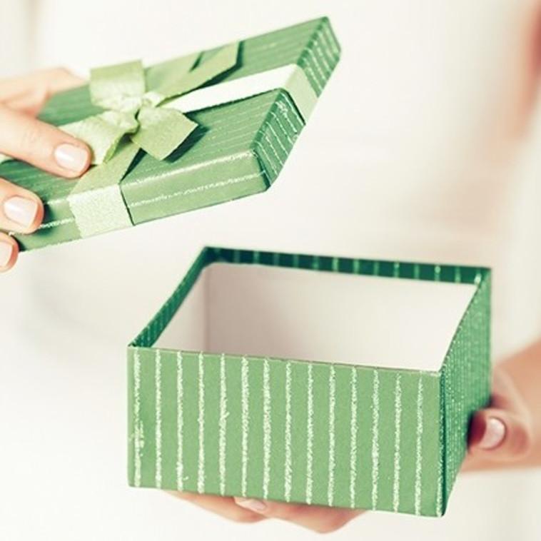 מתנה ריקה (צילום: אינגאימג)