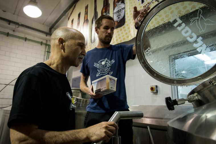 ''שוק הבירה הישראלי אמנם מתפתח, אבל לאט''. מבשלת אלכסנדר (צילום: תום גץ)