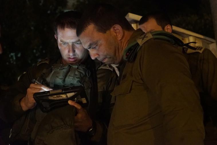 """חיילי צה""""ל באיו""""ש. צילום: דובר צה""""ל"""
