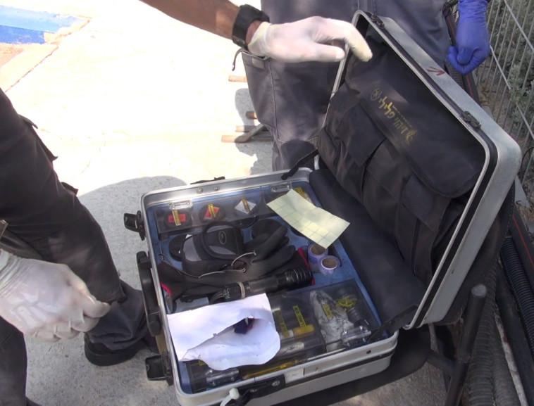 התיק פוענח לאחר 4 שניםש. צילום: דוברות המשטרה