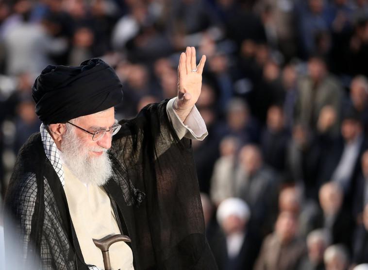 מנהיג איראן עלי חמינאי. צילום: AFP