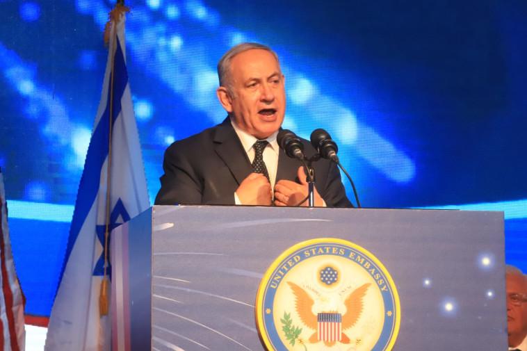 """ראש הממשלה נתניהו. """"חתום על הרס החברה הישראלית"""". צילום: איתן אלחדז, TPS"""