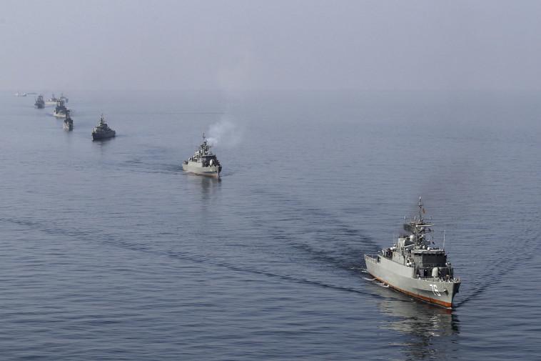 אוניות חיל הים האיראני. צילום: רויטרס