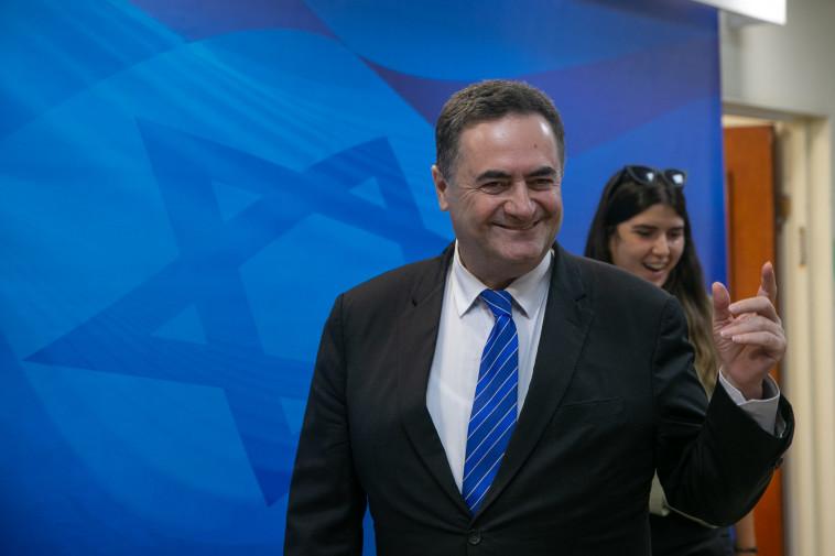 ישראל כץ. צילום: אהוד צויגנברג