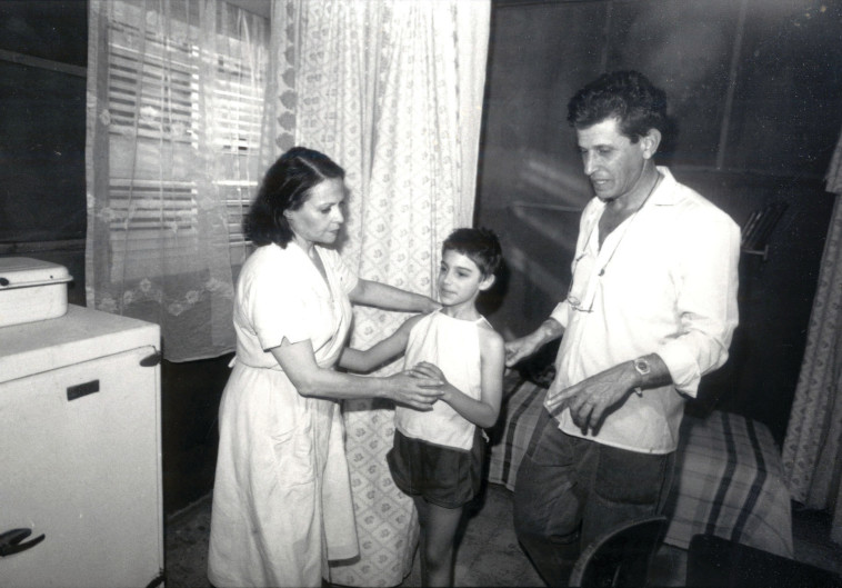 הקיץ של אביה, גילה אמגור והבמאי אלי כהן. צלם : צביקה ישראלי