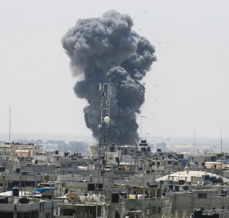 קהיר רואה את הסוגיה הפלסטינית והביטחון הלאומי המצרי כקווים מקבילים. צילום: AFP