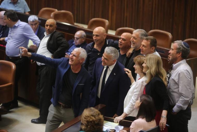 ההצבעה על חוק הלאום. צילום: מרק ישראל סלם