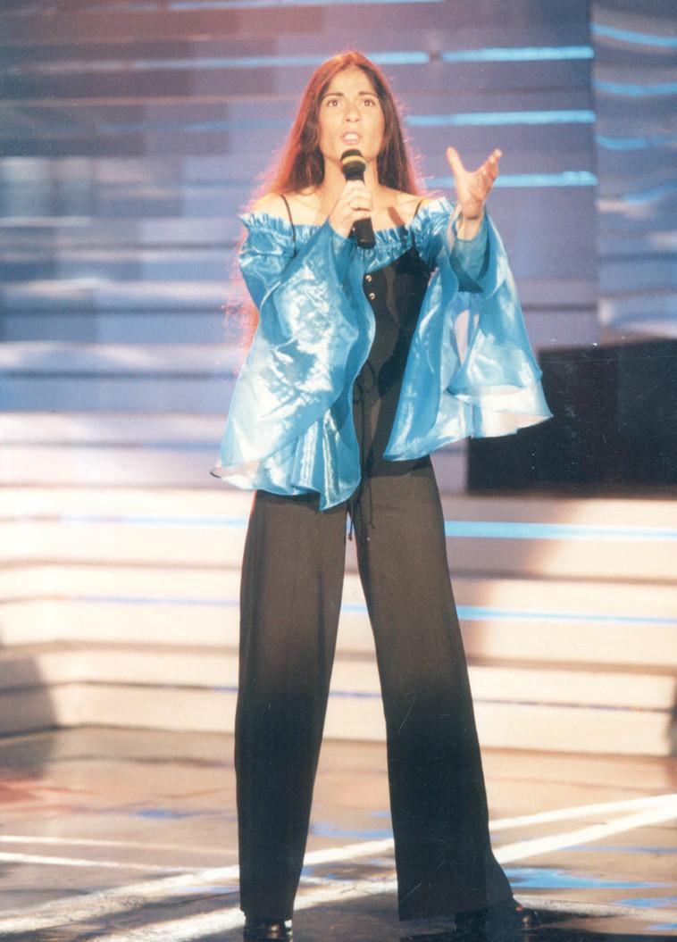חיה סמיר, קדם אירוויזיון 1995. צלם : קוקו